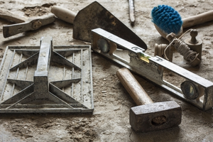 Pro Stone Massonry tools that we use to repair masonry problems in the Boston area.