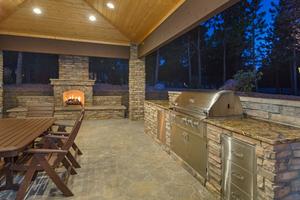 Pro Stone Masonry Outdoor Kitchen Possiblity